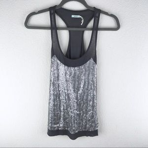 Urban Outfitters Sequin Rustic Tank